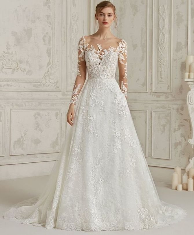 finest selection 7cdc9 2021f Come scegliere l'abito da sposa in base alle forme del corpo