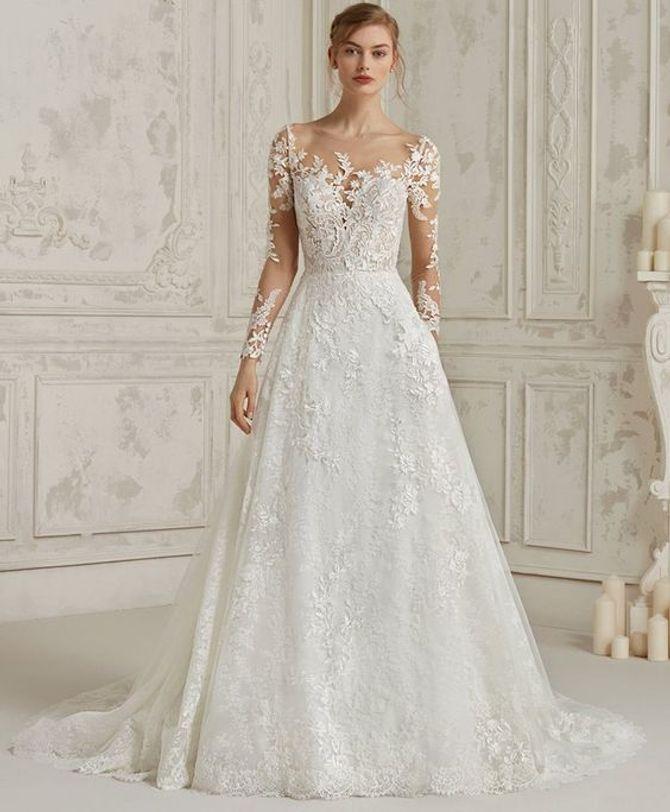 Come scegliere l abito da sposa in base alle forme del corpo 9d4aae38e28