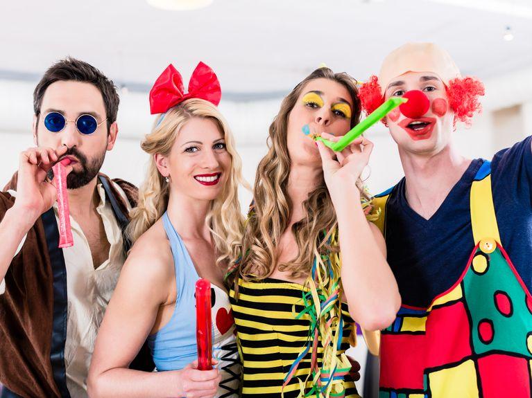 Disfrazarse carnaval como para