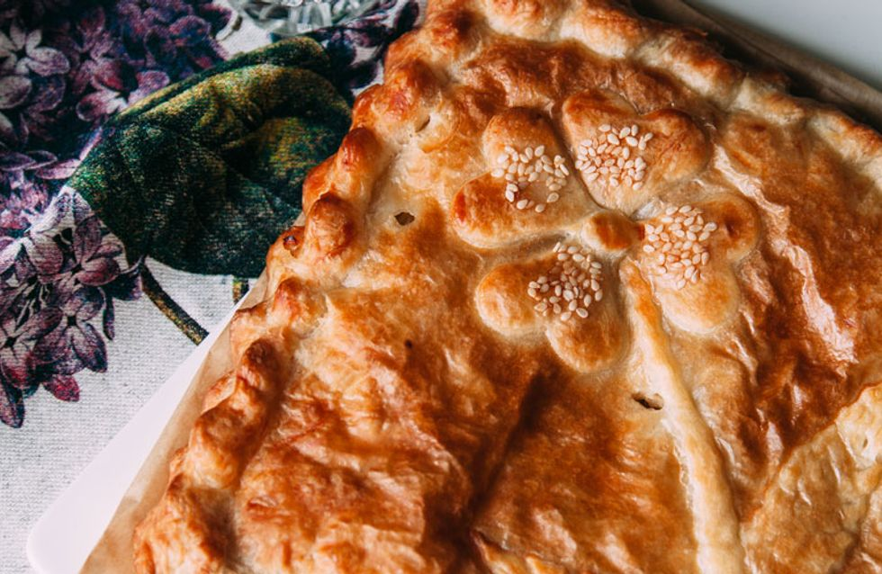 Receta de empanada de bacalao y verduras, ¡una auténtica delicia!