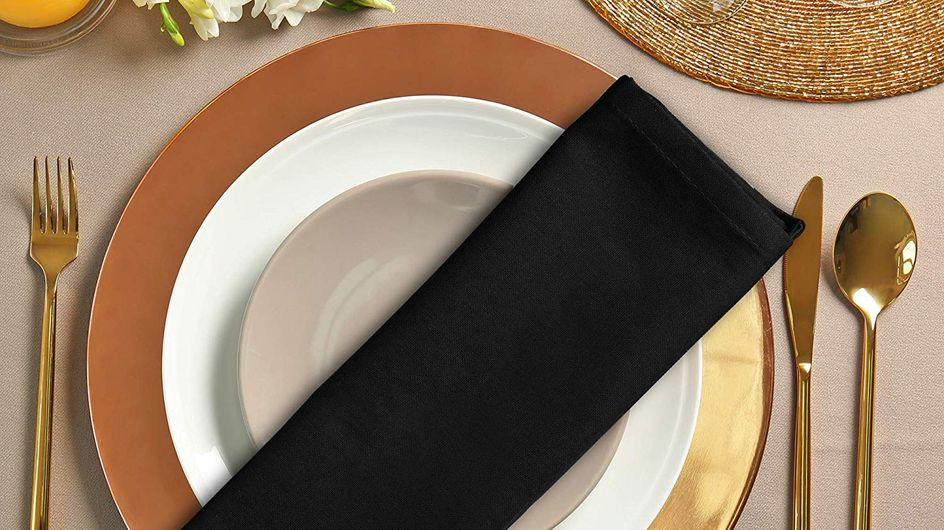 Le grand retour des serviettes de table !