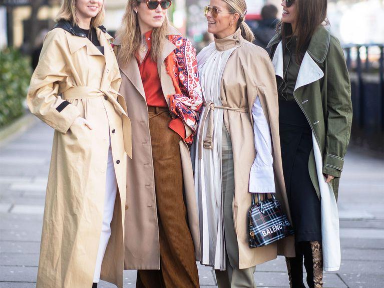 neues Hoch große Auswahl an Designs Räumungspreise Trenchcoat kombinieren: So wird euer Mantel-Look mega stylisch
