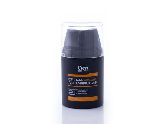 Crema anti arrugas de Cien Men (3,49 euros) en LIDL