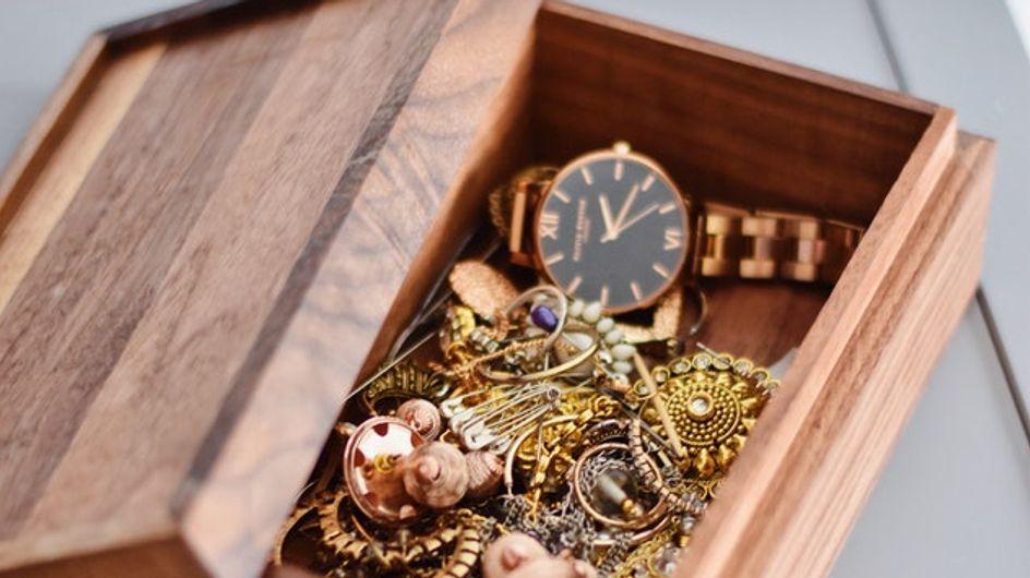 Nos boîtes à bijoux préférées