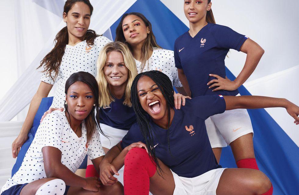 Nike dévoile les premiers maillots des Bleues pour la Coupe du monde