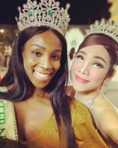 Elle devient la première femme noire couronnée à ce concours de beauté transgenre