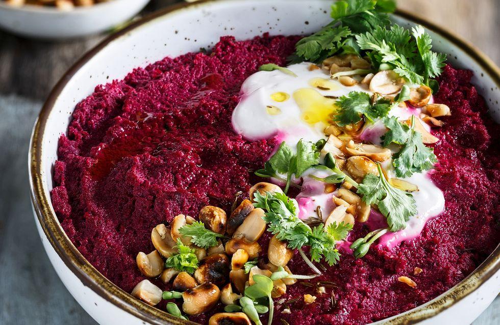 6 recetas de hummus para dippear de forma saludable