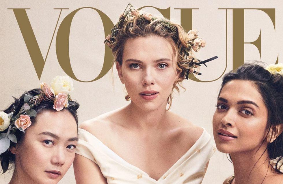 Vogue met à l'honneur Scarlett Johansson et 13 autres actrices représentant le talent mondial