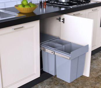 10 poubelles pratiques pour la cuisine !