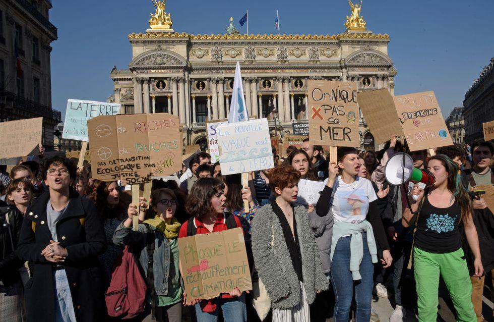 Grève mondiale pour le climat : Les lycéens et étudiants très mobilisés partout en France