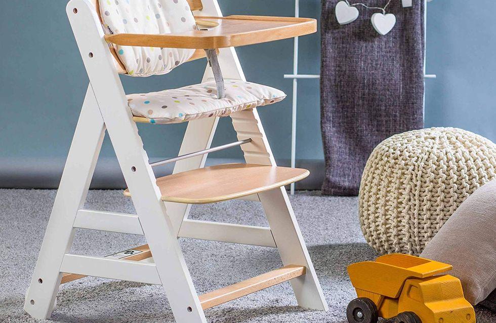 6 jolies chaises hautes pour bébé