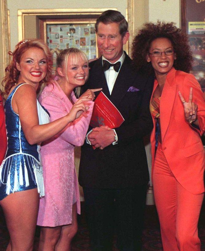 Spice Girls : le secret du baiser entre Geri Halliwell et le Prince Charles enfin dévoilé