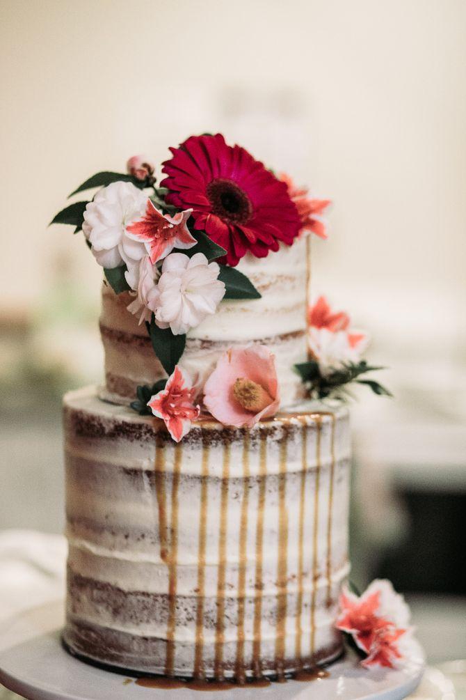 Gâteau floral