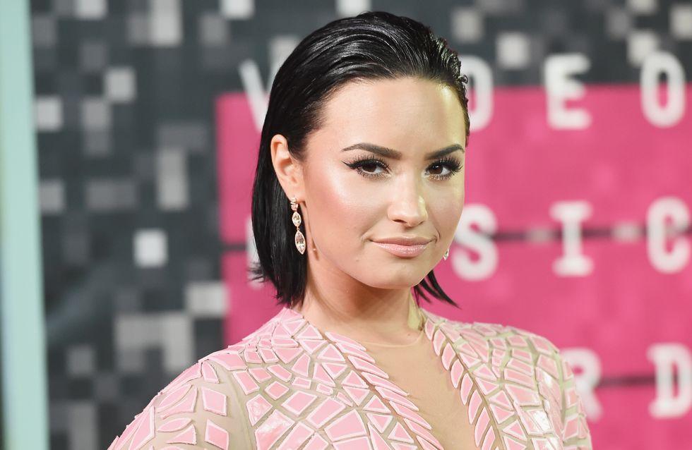 Démaquillée, Demi Lovato assume ses problèmes d'acné, et on adore ça ! (Photos)