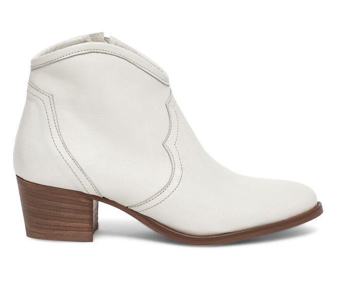Boots blanches Eram