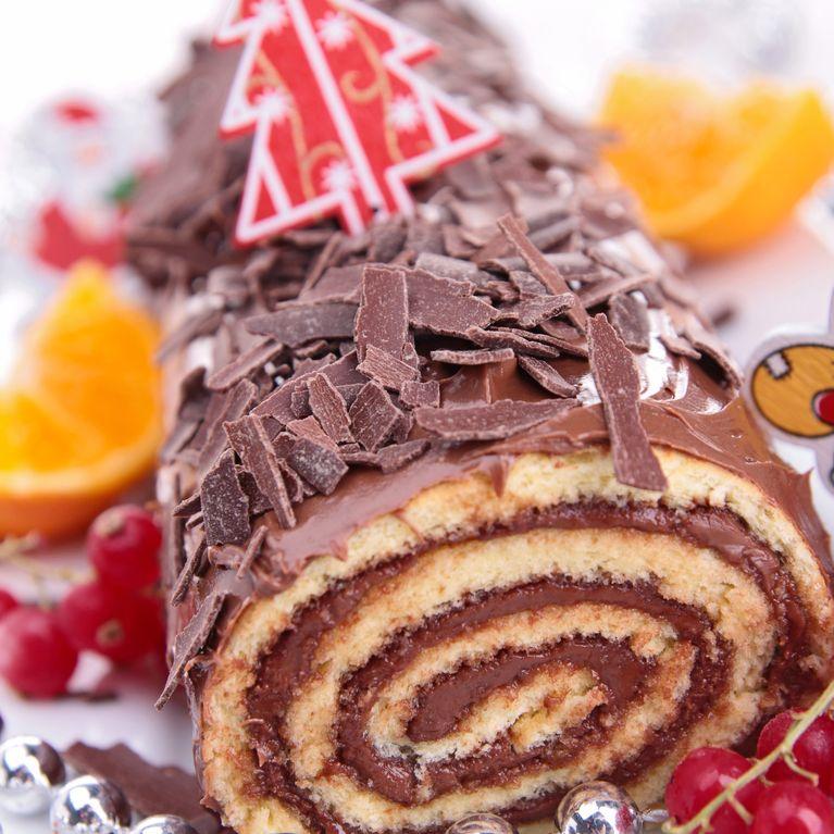 Dessert au chocolat pour noel