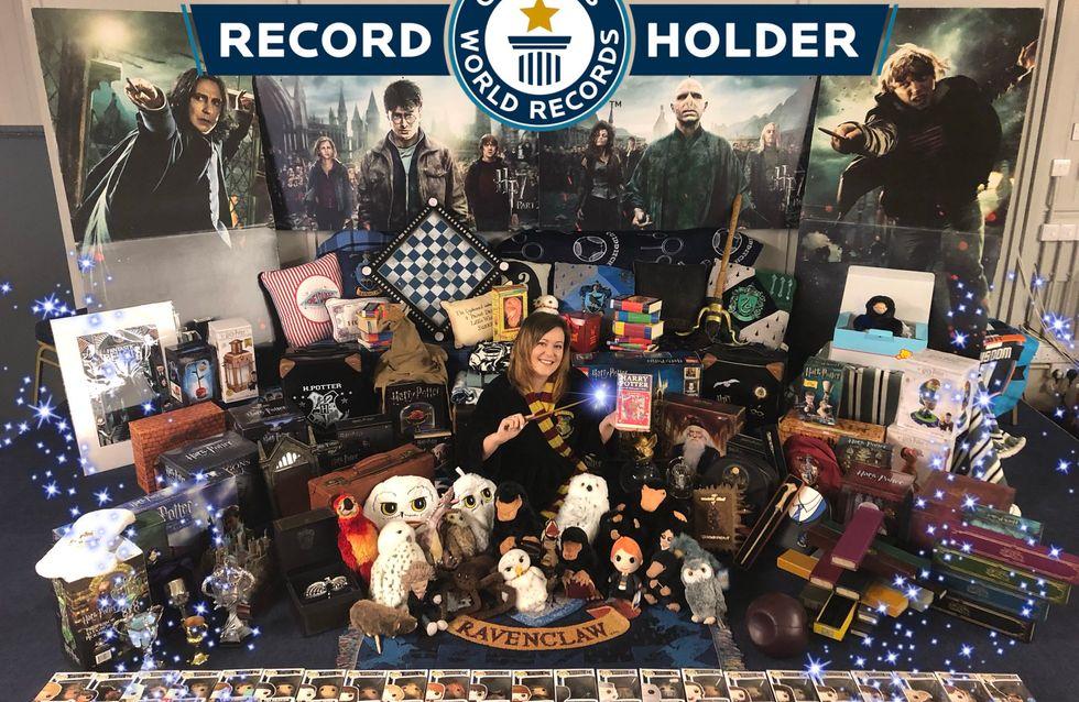 Cette fan d'Harry Potter détient la plus grosse collection au monde sur la saga