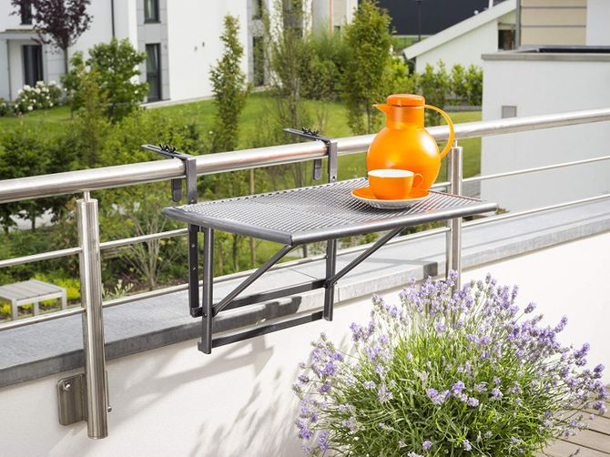 Table pliable de balcon