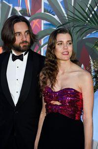 Charlotte Casiraghi, étincelante dans une robe bustier à paillettes