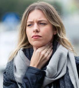 Sensación de algo en la garganta, ¿qué puede ser?