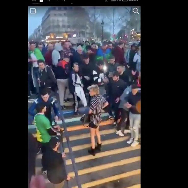 Une interpellation après une agression transphobe en marge d'une manifestation — Paris
