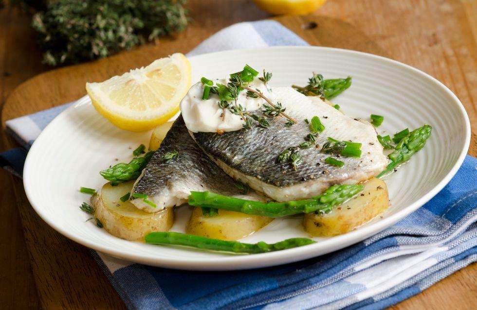 Lubina al horno: consejos para preparar una receta fácil y saludable