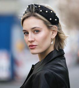 Neuester Trend der Mode-Mädchen? Statement-Haarreifen!