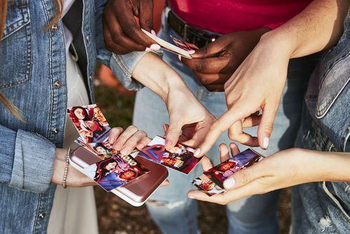 Der Zoemini ist perfekt für Foto-Action mit deinen Freunden