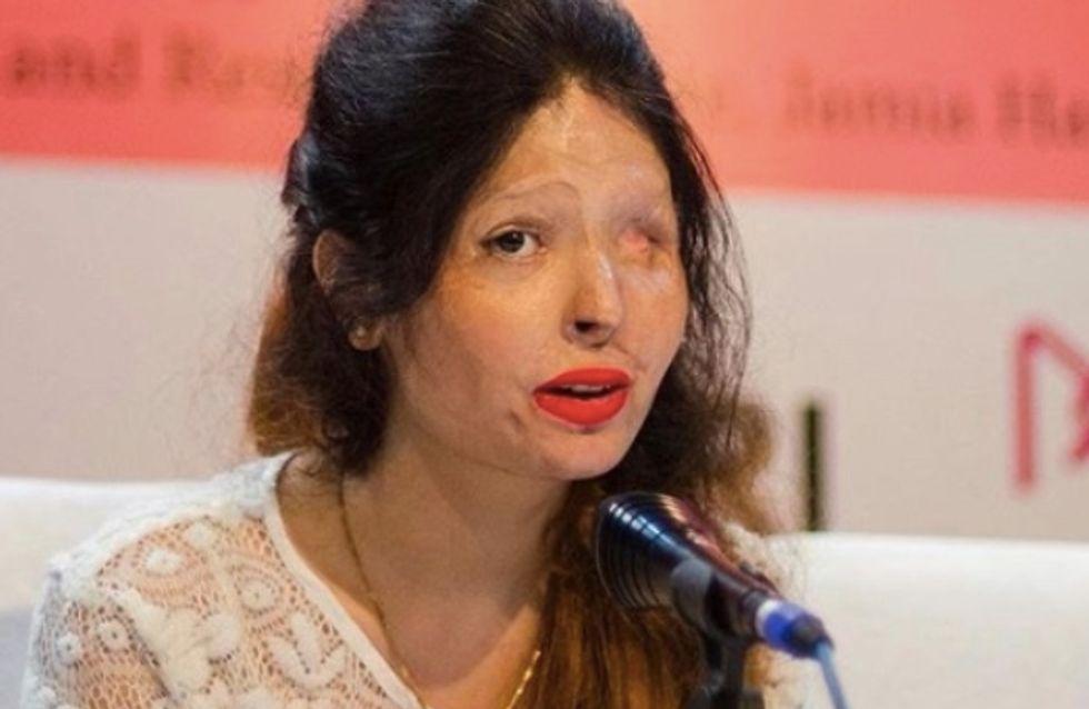 Victime d'une attaque à l'acide, elle livre un témoignage bouleversant