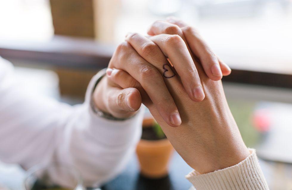 Partner tattoos handgelenk
