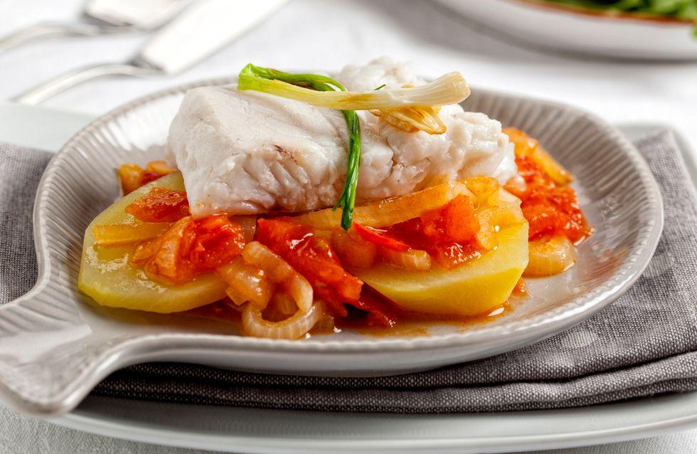Merluza al horno: una receta sana y rápida