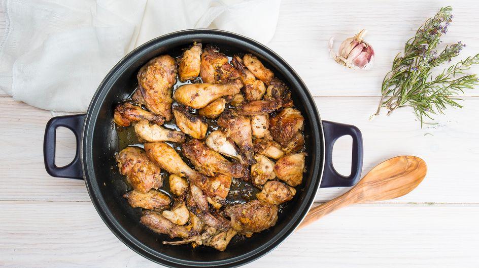 Pollo al ajillo: cómo hacer una receta de pollo al ajillo tradicional