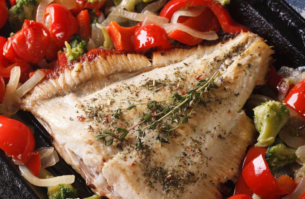 Dorada al horno con verduras: una receta fácil y saludable