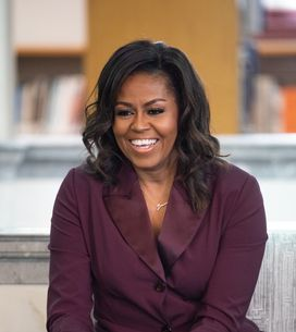 Michelle Obama fait sensation dans un costume rose à diamants (photos)