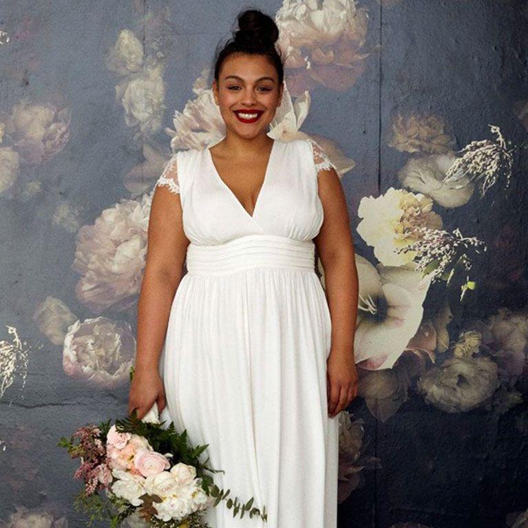2b96aa0b6 Novias curvy  claves para elegir el vestido de boda perfecto