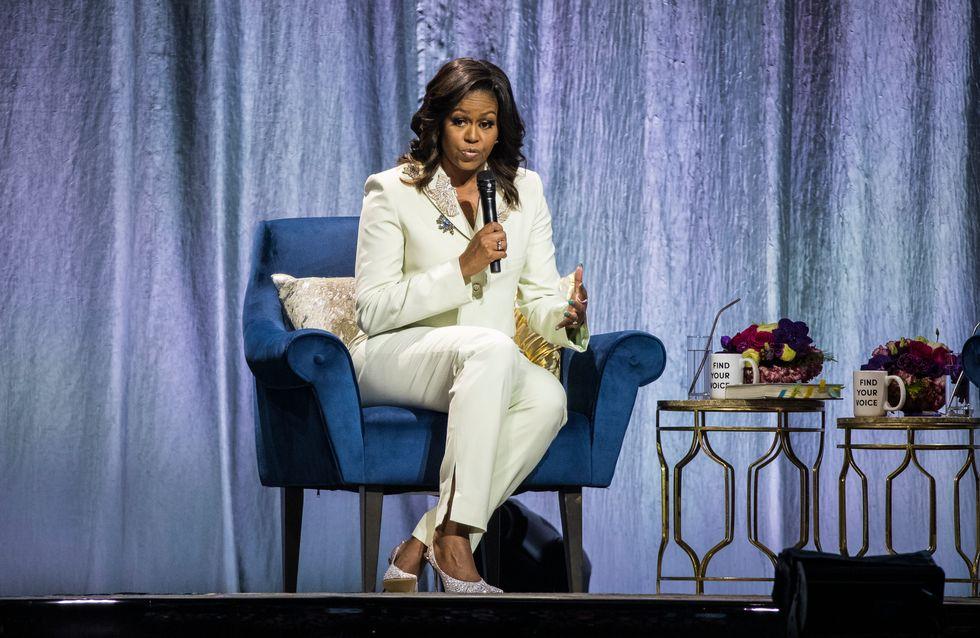 De passage à Paris, Michelle Obama s'exprime avec émotion sur l'incendie de Notre-Dame