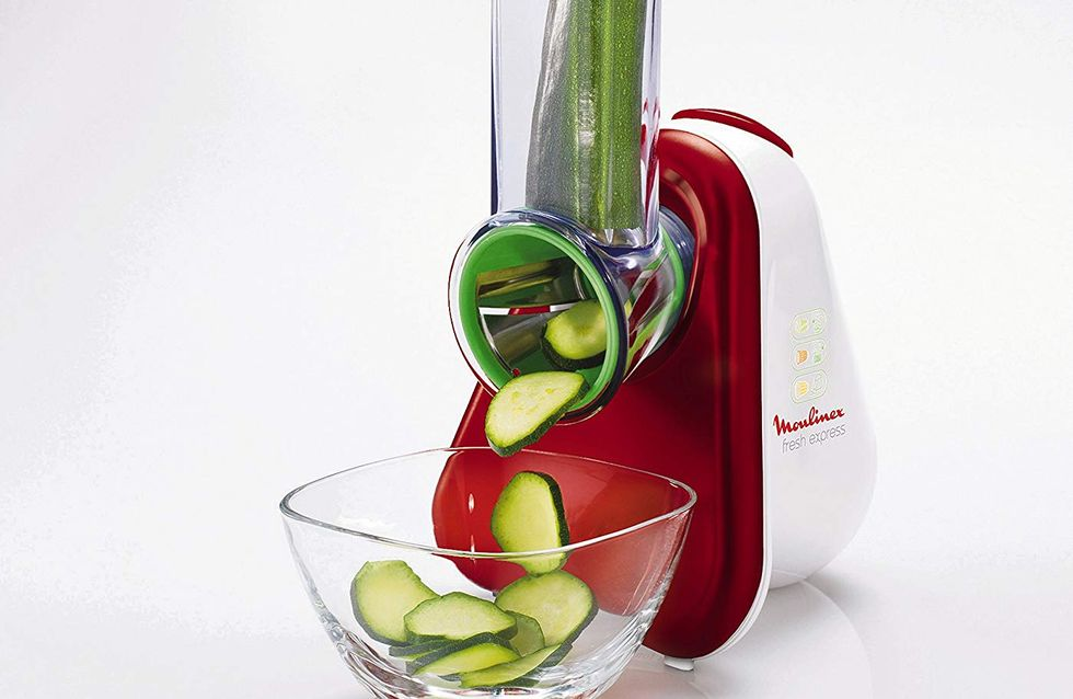 Découpez vos légumes en un rien de temps avec le découpe légumes Moulinex !