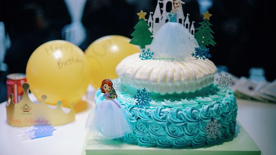 Un anniversaire sur le thème de La Reine des Neiges...