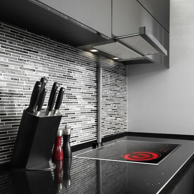 Hotte tiroir en cuisine