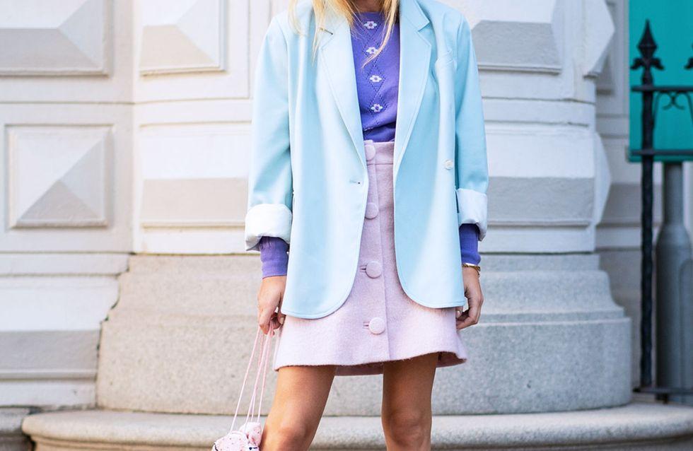 Pastellfarben kombinieren: So stylt ihr den Trend richtig