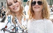 Lily-Rose Depp et Vanessa Paradis, réunies à l'occasion du défilé Croisière Chan