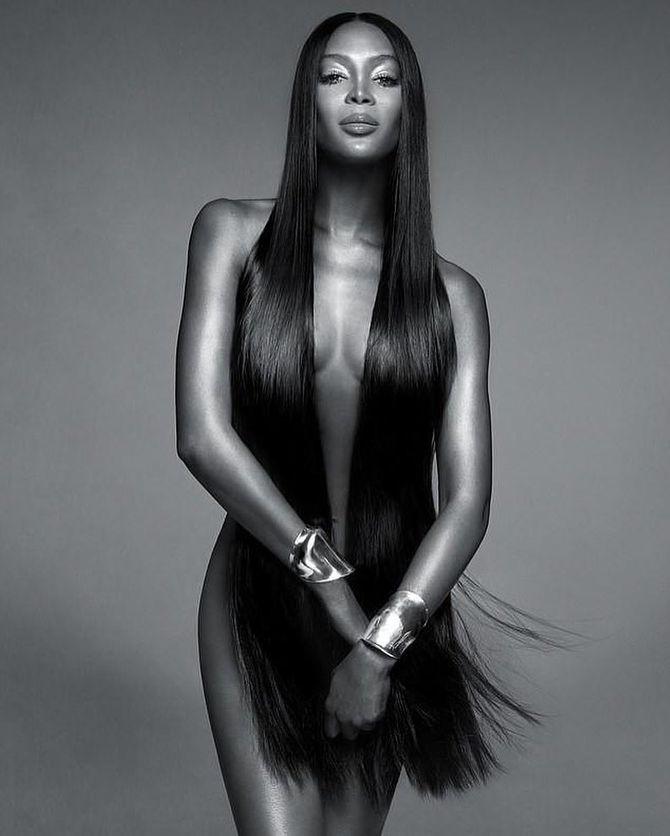 Naomi Campbell pour Nars