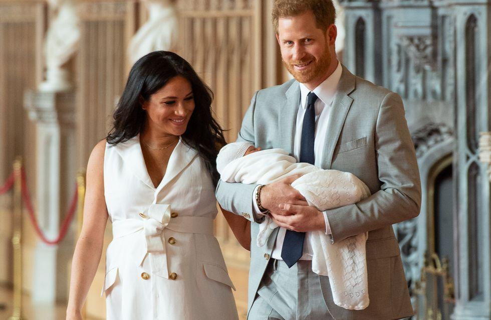 Meghan Markle et le prince Harry dévoilent le prénom de leur fils !