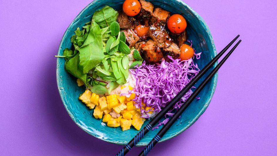 """Bunt, gesund, mega lecker: Wir ♥ die neuen """"Rainbow Buddha Bowls"""""""