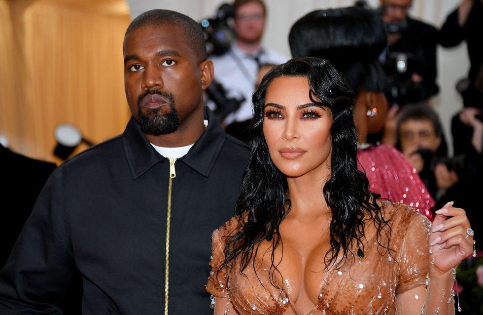Kim Kardashian et Kanye West parents pour la quatrième fois