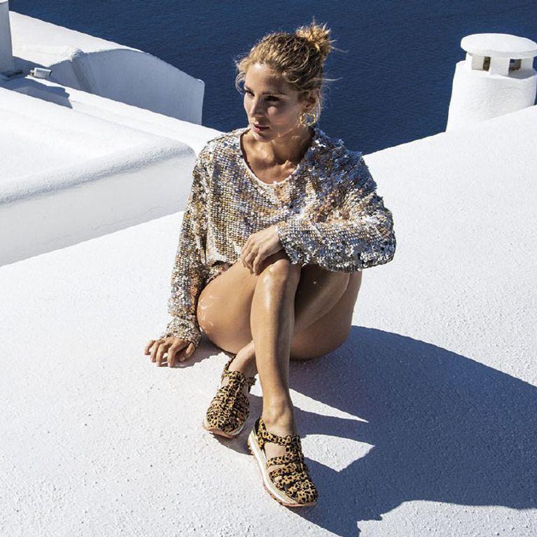 ajuste clásico 0b925 548e4 Descubre las sandalias favoritas de Elsa Pataky para este verano