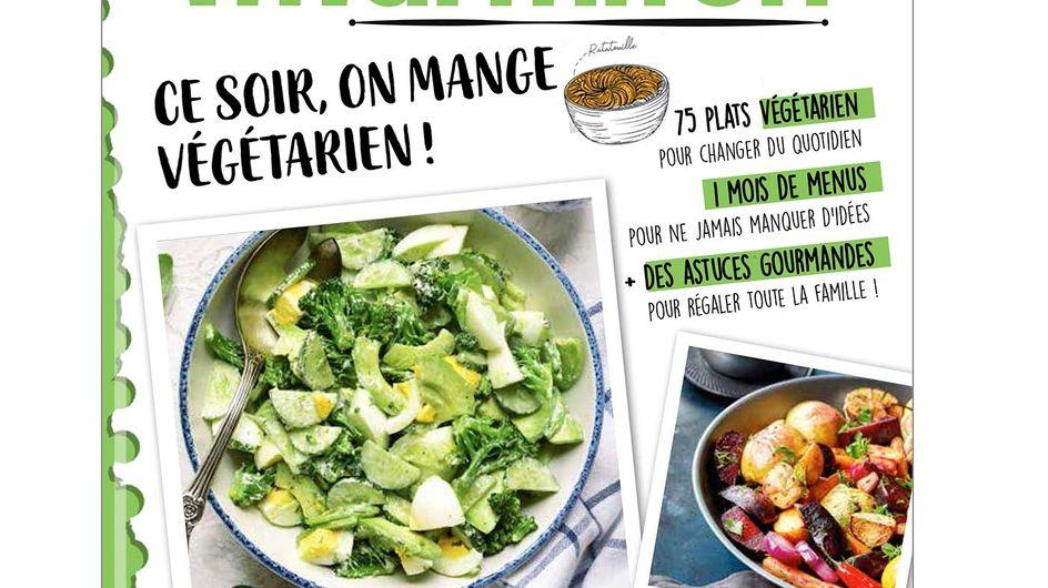 Le nouveau cahier gourmand Marmiton spécial cuisine végétarienne