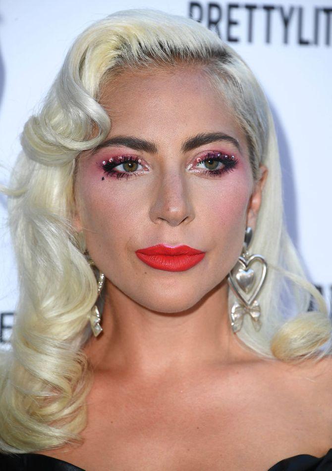 Trucco occhi estate 2019 lady Gaga