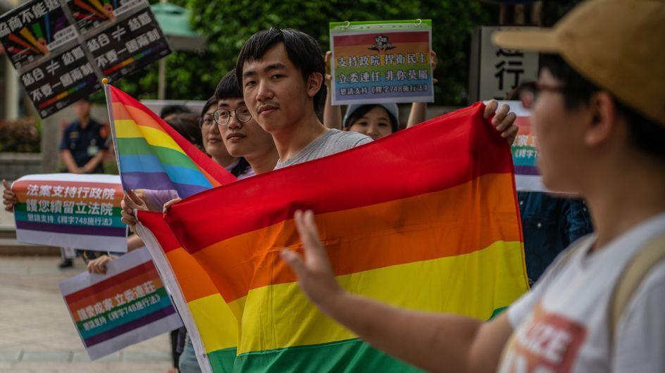 Taïwan devient le premier pays asiatique à légaliser le mariage homosexuel