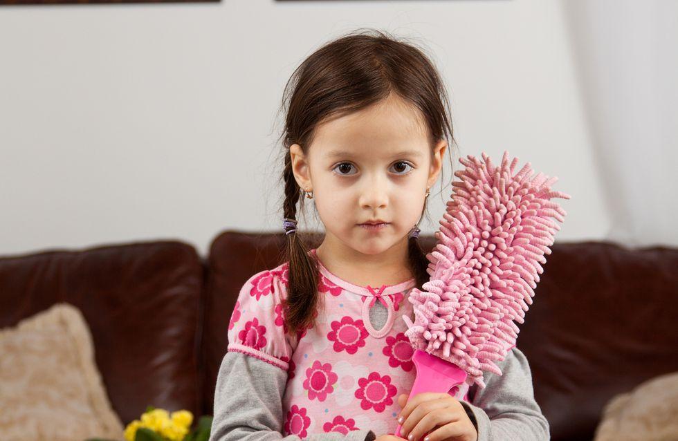 Fair & gleichberechtigt: So solltet ihr Kindern Hausarbeit beibringen